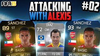 "Fifa 15 RTG - Attacking with Alexis! #2 - ""MOTM Bendtner & Late Drama!"""