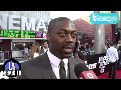 Interview With David Ajala Movie Premiere on the Red Carpet