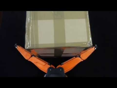 RobLog Tech Film ICRA 2013 featuring the Velvet Fingers, a Simple Tactile Under-Actuated Gripper