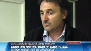 Alfredo Rebori   HUBO INTENCIONALIDAD DE HACER DAÑO