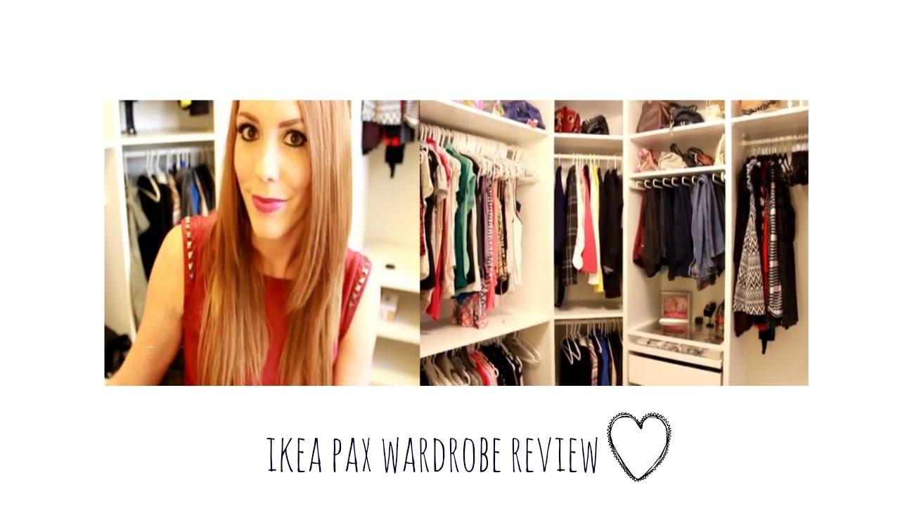Ikea PAX Wardrobe Review | DIY   YouTube