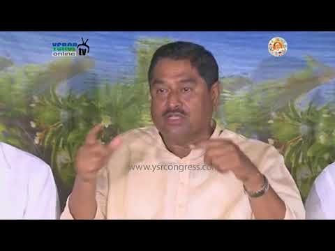 """Our party is going to protest on 30th in Vizag as """" Vanchana Dinotsavam """" Says YSRCP Leaders"""