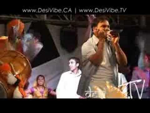 Aman Hayer performing at Groundshaker