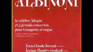Concerto en si bémol majeur - Albinoni - Trompette & Orgue