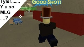 Roblox il pazzo Paintball - Tyler Gameplay
