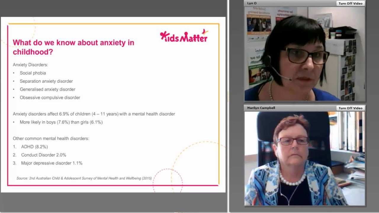 Webinar: Supporting primary school children with anxiety