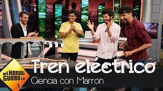 Marron sorprende a Taburete con el tren eléctrico definitivo - El hormiguero 3.0