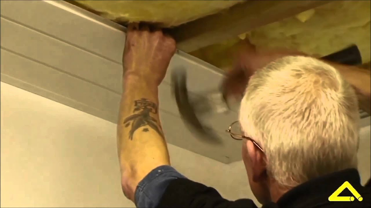 Ceiling Cladding Installation Angel Plastics Youtube