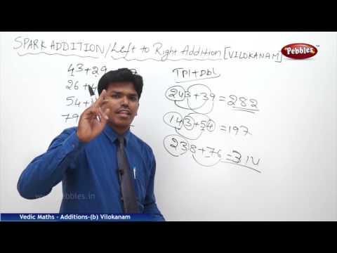 Vilokanam Part 2 | Spark Addition | Speed Maths | Vedic Mathematics
