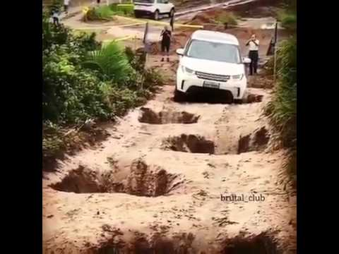 Land Rover discovery sport off road test