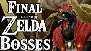 Top 10 Zelda Final Bosses!
