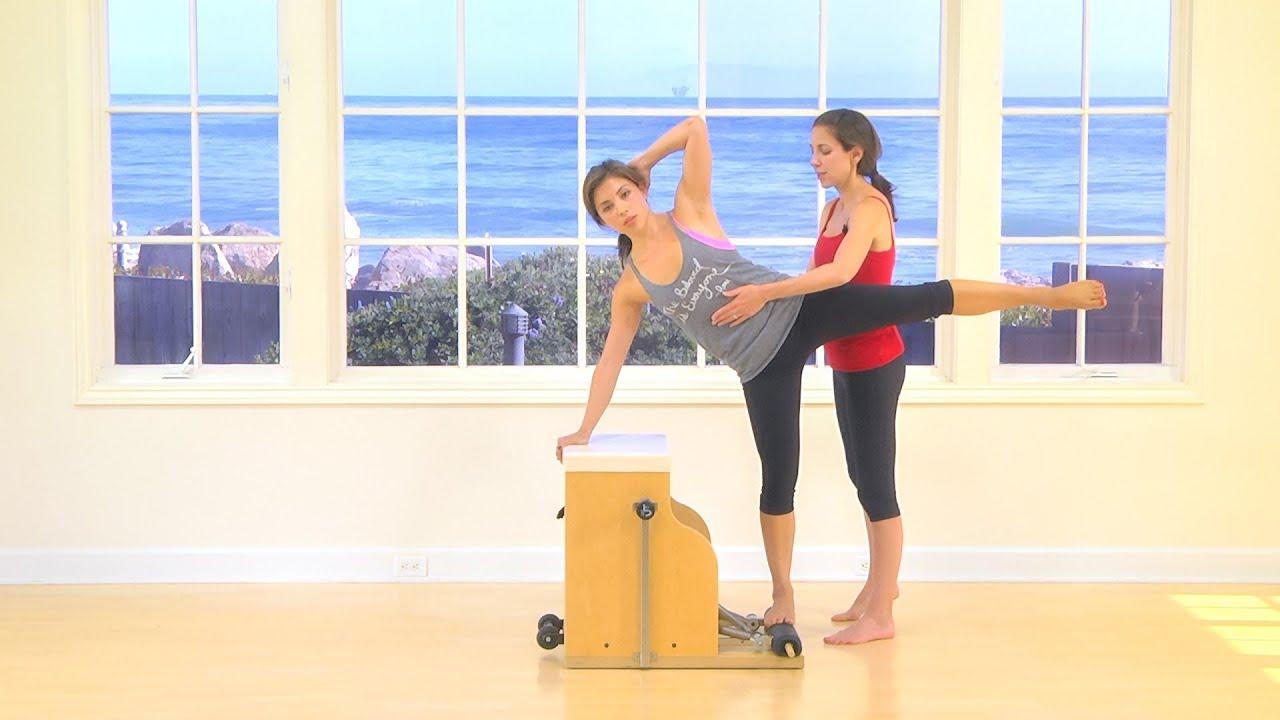 Balanced body pilates chair - Pilates Hip Arm Deep Ab Wunda Chair Workout Mariska Breland