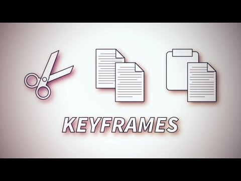 How To Copy & Paste Keyframes - An Adobe After Effects tutorial