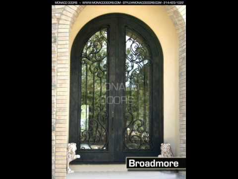 Monaco Doors Custom Iron Doors Double Doors