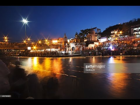 A beautiful evening at heavenly Ganges river at Varanasi, India