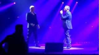 Έμεινα Εδώ-Η νύχτα δυο κομμάτια / Στέλιος Ρόκκος-Αντώνης Ρέμος  Live @ Arena 03-11-2012