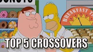 Top 5 Cartoon Crossover Episodes