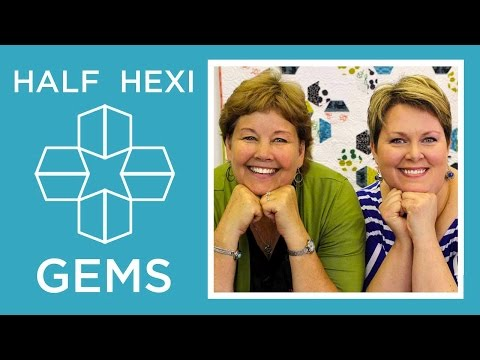 make-hexi-gems-applique-with-jenny-doan-of-missouri-star-and-lisa-hirsch!-(video-tutorial)