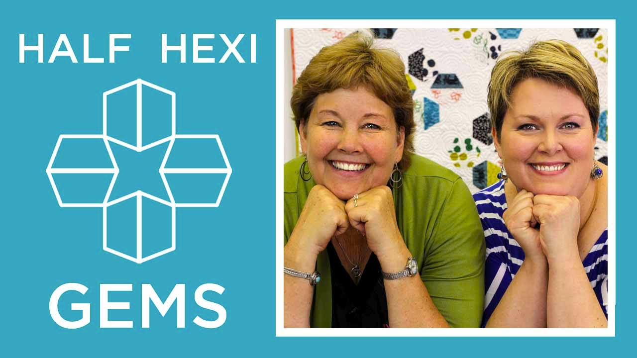 Make Hexi Gems Applique With Jenny Doan Of Missouri Star
