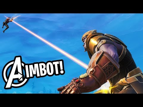 THANOS X AVENGERS ENDGAME IN FORTNITE!! (THIS IS OVERPOWERED!)