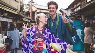 WEARING KIMONOS in JAPAN