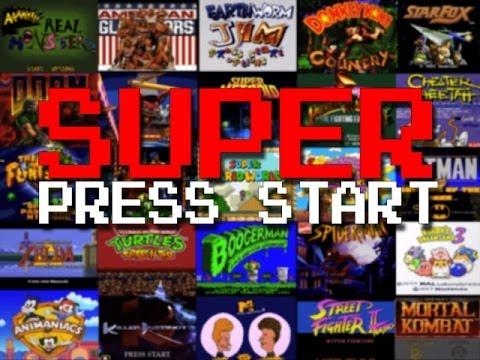 SUPER PRESS START
