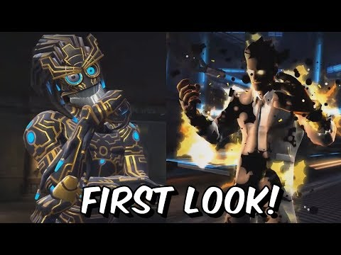 Warlock & Sunspot Special Attacks First Look! - Marvel Contest of Champions