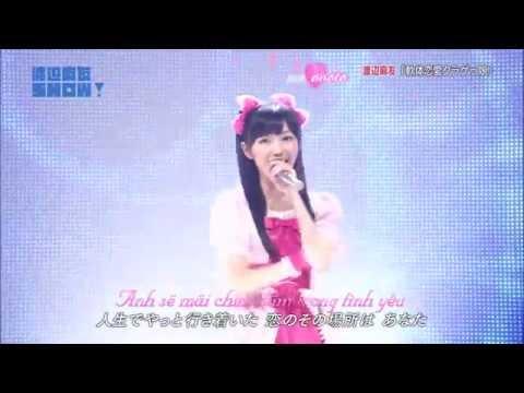 [Kara + Vietsub] 渡辺麻友 (AKB48) - 軟体恋愛クラゲっ娘 (Nantai Renai Kuragekko) / Watanabe Mayu SHOW! 13-09-2014