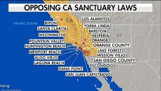 Another California City Joins Trump Admin in Opposing State's Sanctuary Law
