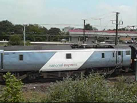 National Express East Coast (NXEC / NEEC) trains at York ...