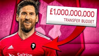 £1,000,000,000 Salford City Takeover Challenge! FIFA 20 Career Mode