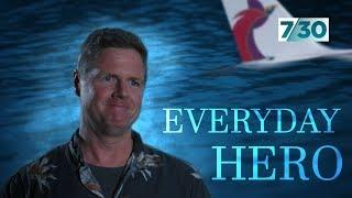 The Australian hailed a hero after the tragic Micronesia plane crash | 7.30