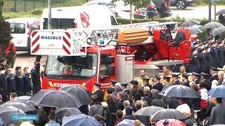 Prachtig eerbetoon aan Belgische brandweermannen