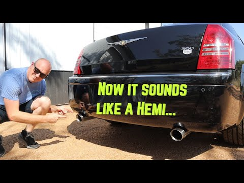 How To Install Performance Exhaust on Chrysler Hemi 5.7 // 300c Episode 6