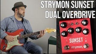 Strymon Sunset OverDrive Pedal - Marty Music Thursday Gear Video