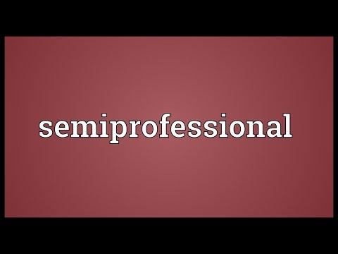Header of semiprofessional