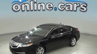 A98952TP Used 2011 Acura TL Black Test Drive, Review, For Sale