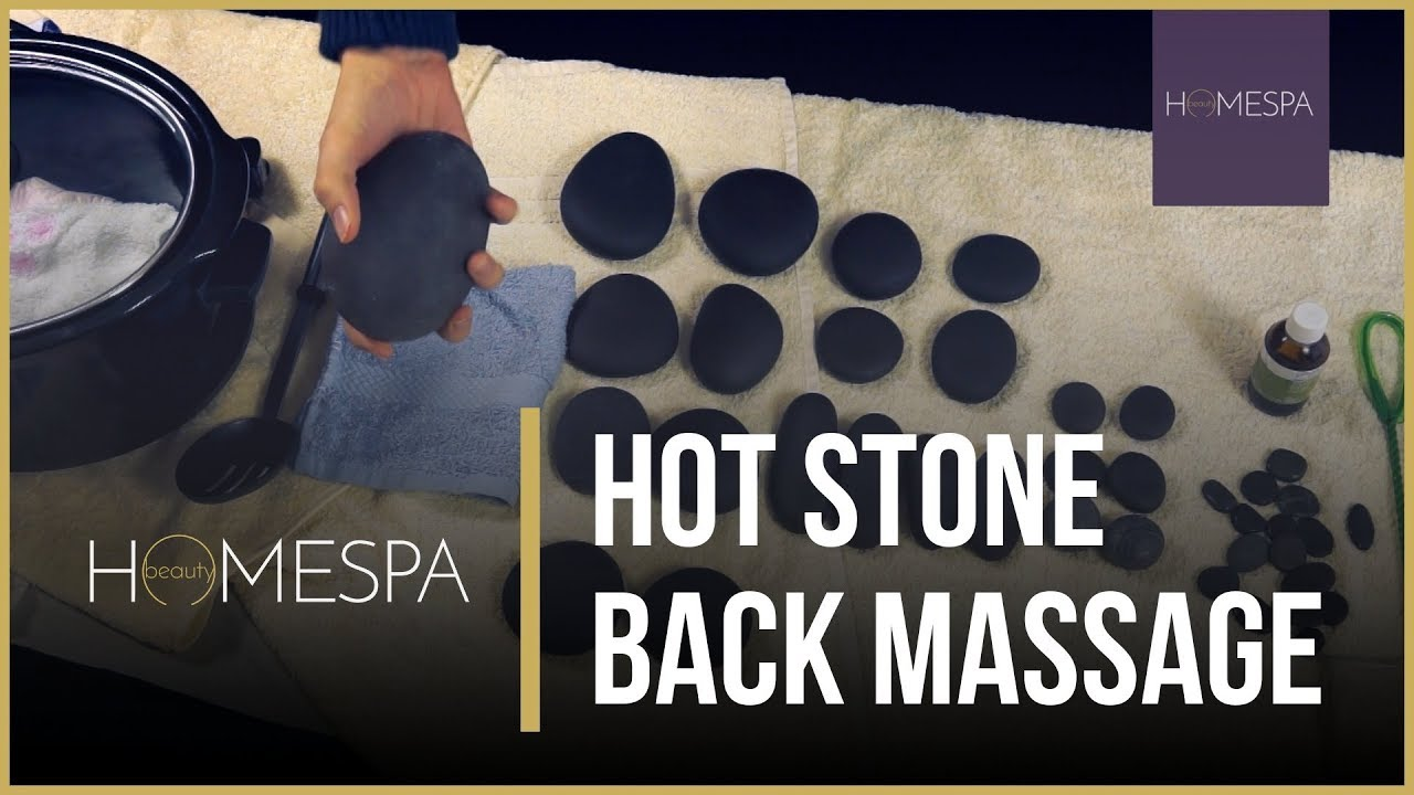 Hot Stone Back Massage Techniques Unintentional Asmr Massage