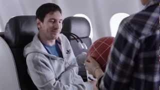 Kobe vs Messi: Pubblicità aereo - Turkish Airlines