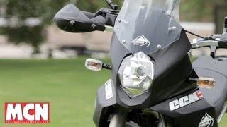 CCM GP450 Adventure   Road Tests   Motorcyclenews.com