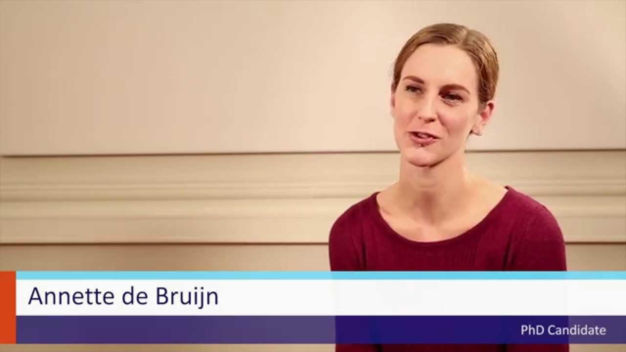 PhD candidate Annette de Bruijn and her supervisor Prof  Maaike Meijer on  doing a PhD at FASoS
