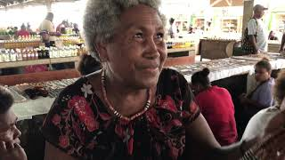 The Honiara Market in the Solomon Islands