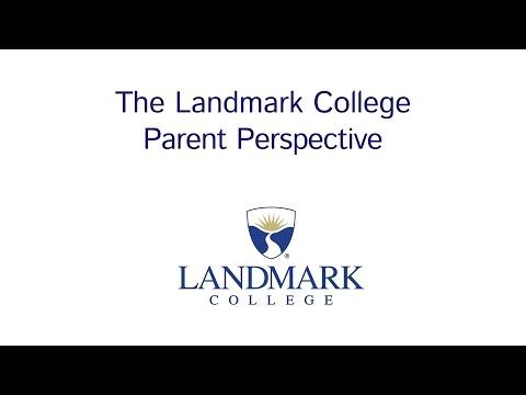 Landmark College: The Parent Perspective