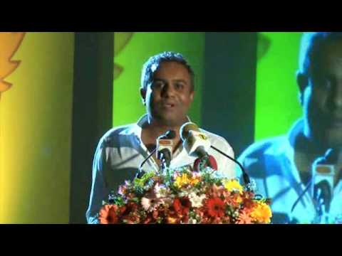 Dr.Harsha Subasinghe , CEO of CODGEN  inspirational speech at Sahasak Award Ceremony 2014