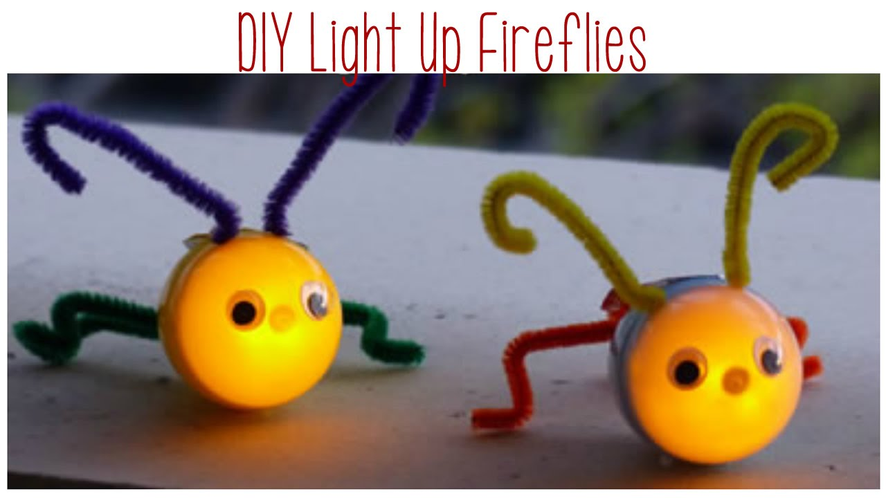 Firefly Craft Ideas