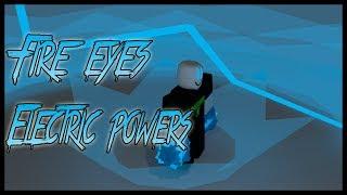 Roblox Script Showcase Episode#761/Fire Eyes Electric Powers