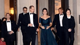 Prince William and Duchess Kate end NYC visit in style