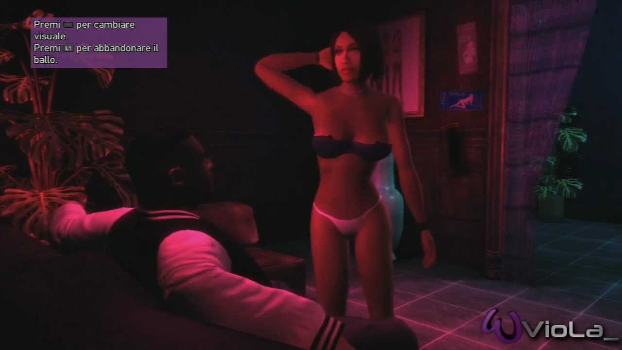 Girl play in gta and ridding toy - 4 6