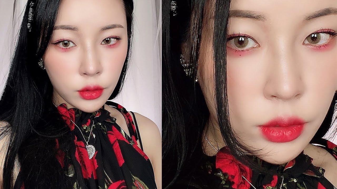 여자아이들 화 수진 메이크업 하는법💋(G)-idle WHAA soojin makeup tutorial[밀크캣 룩스컬러]