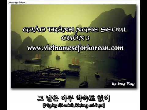 Giáo trình nghe Seoul Cuốn 3 Bài 10,11 và 12 [www.vietnameseforkorean.com]
